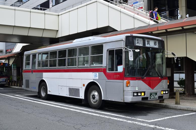 群馬バス 6171(群馬22あ2654)