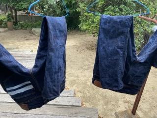 ジーンズ洗濯2