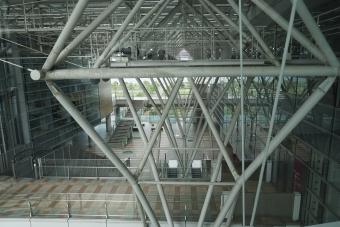 サンポートのトラス構造1