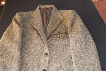 ハリスツイードのジャケット1