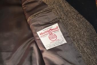 ハリスツイードのジャケット2