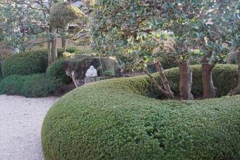 伏石の庭1