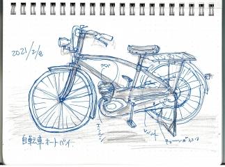 自転車オートバイ1-2