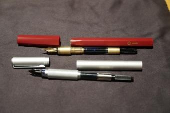 万年筆2種