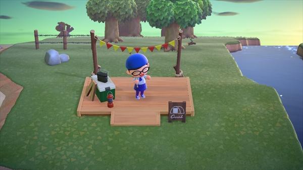 キャンプサイト あつ森