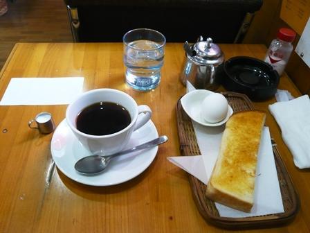 コルシカ:アメリカンコーヒー・モーニングサービス1