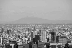 東京タワーから筑波山