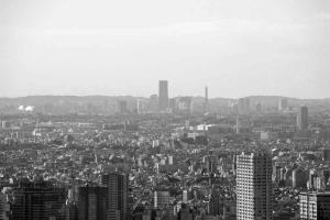 東京タワーから横浜