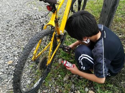 自転車整備1