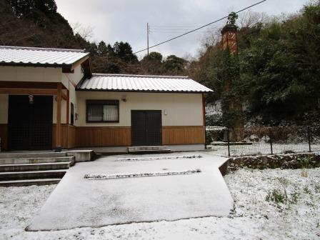 雪の大晦日1(2020-12-31)