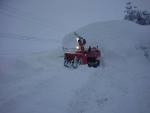 ロータリー除雪