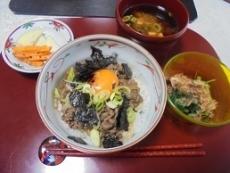 ブログ3船小屋牛丼