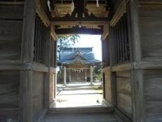 ブログ3竈門神社