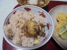 ブログ4栗ご飯