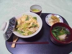 ブログ6親子丼