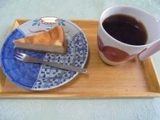 ブログ8チーズケーキセット