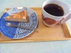 ブログ9チーズケーキセット