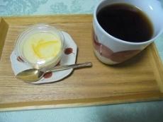 ブログ1レアチーズケーキセット