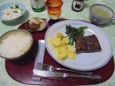 ブログ2ステーキディナー