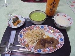 ブログ6赤ワインと北海道産士幌牛ステーキ