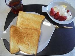ブログ5食パンランチ