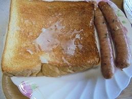 ブログ4食パン