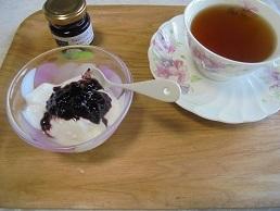 ブログ8ヨーグルト&紅茶