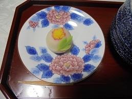 ブログ14牡丹上生菓子
