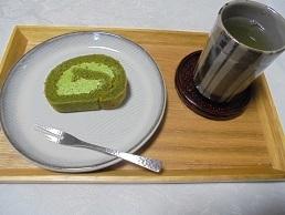 ブログ13抹茶ロールセット