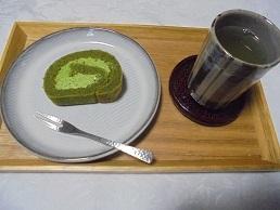 ブログ14抹茶ロールセット