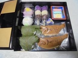 ブログ2重箱お菓子