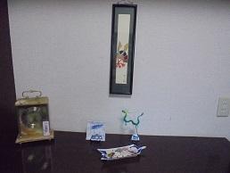 ブログ4玄関横飾り