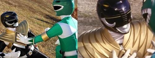 ドラゴンレンジャーのアーマー、シールドを装着したマンモスレンジャー