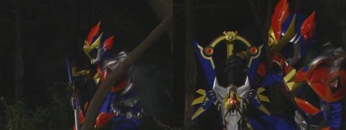魔弾剣士リュウケンドーがやられてスーツを破壊される