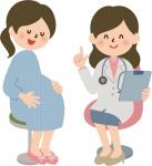 妊婦さんと女医