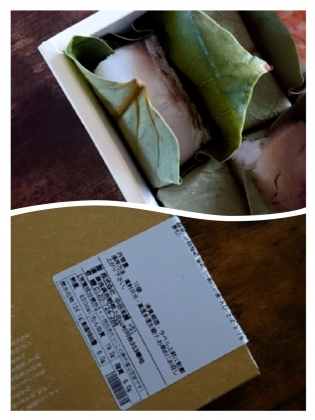 20200725-26中谷本舗大和吉野ゐざさ柿の葉寿司二種十個入り