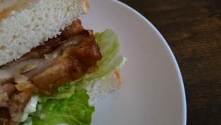 20200101油淋鶏サンドトースト