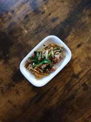 20201124肉野菜炒め(豚)