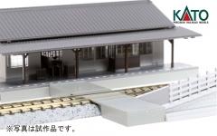 ローカル線の小形駅舎_駅構