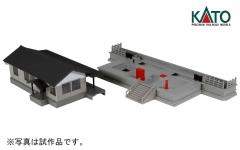 ローカル線の小形駅舎_斜め
