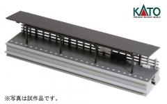 ローカル線の対向式ホーム(屋