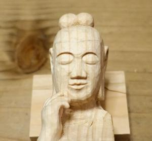 中宮寺菩薩半跏像仏頭