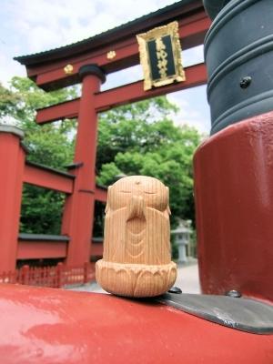 神社と小地蔵さん