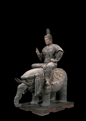 東寺の帝釈天騎象像