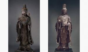 根津美術館の展示 梵天と帝釈天