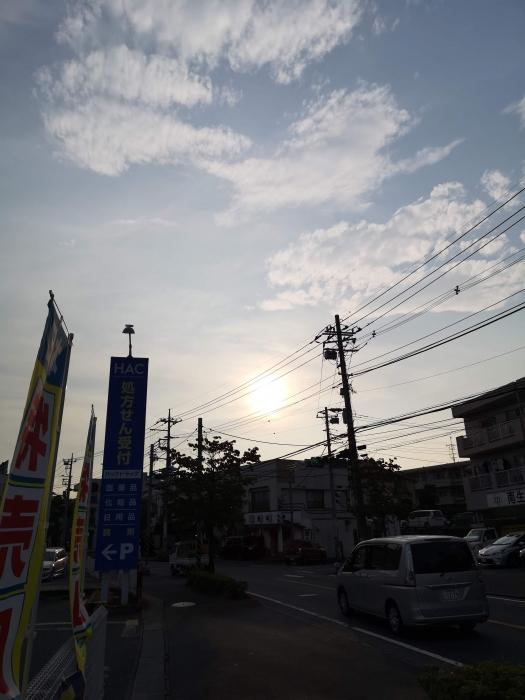 夕方のお空2