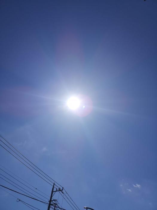 昨日のお空