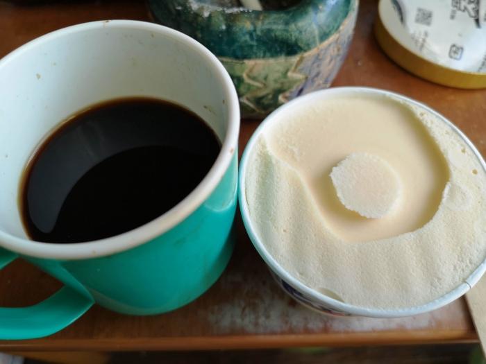 午前のお茶