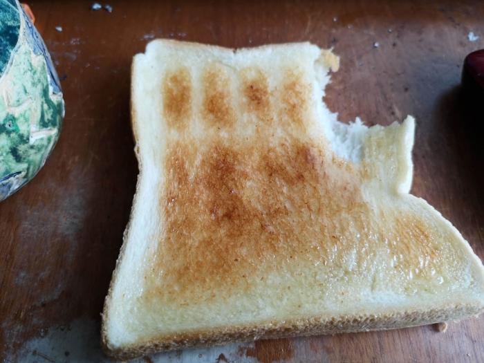蜂蜜トースト