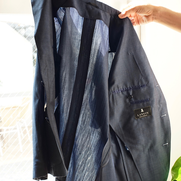 一枚仕立てジャケットナポリ2